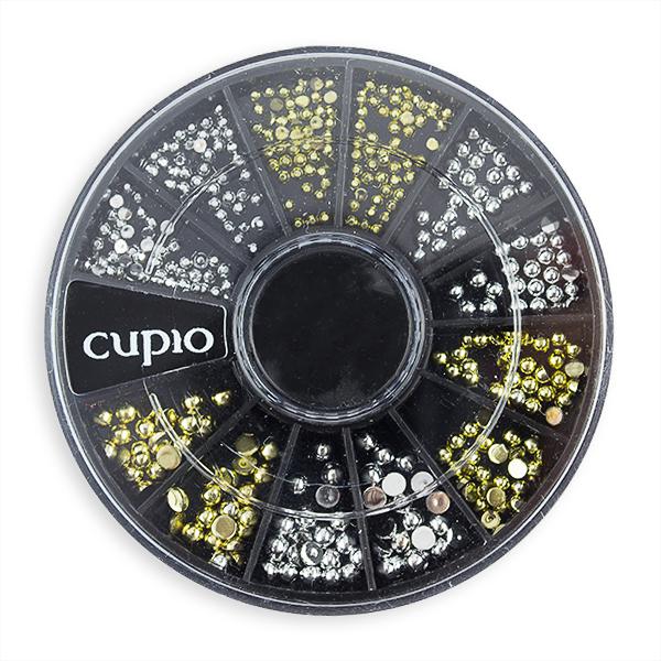 Carusel mini-buline aurii si argintii