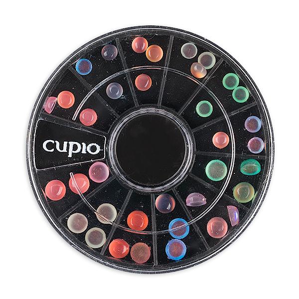 Carusel mini pietre translucide multicolore