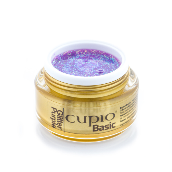 Cupio Basic Glitter Purple 15 Ml
