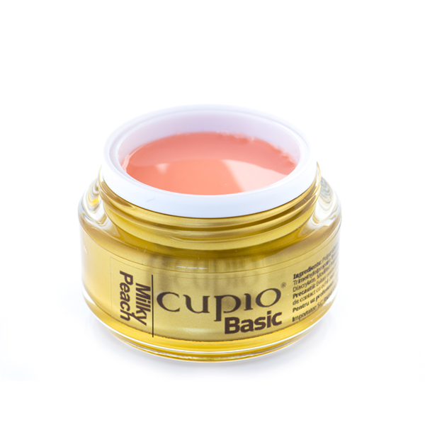 Cupio Basic Milky Peach Gel 15 Ml