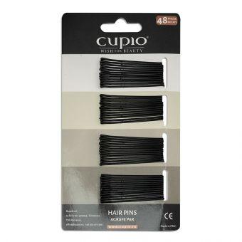 Agrafe de par Cupio - Negre drepte 4.6 cm