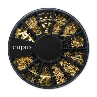 Carusel ornamente metalice Golden