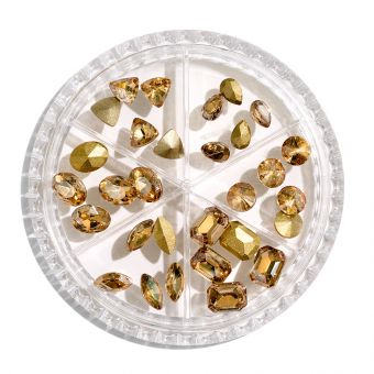 Carusel cristale maxi Rose Gold