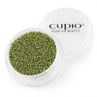 Caviar unghii verde oliv