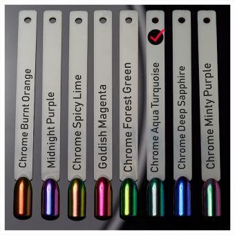 Pigment Chrome Aqua Turquoise