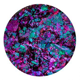 Pigment Chrome Flakes Blue Purple Turquoise