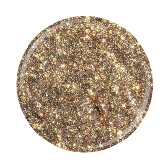 Glitter gel Superstar Cupio Golden