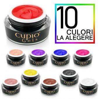 Kit 10 geluri colorate Cupio