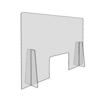 Panou protectie plexiglas 5 mm