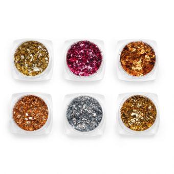 Pigmenti de unghii Flakes set 6 #11
