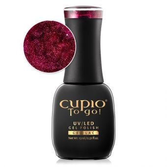 Oja semipermanenta Cupio To Go! Burgundia 15ml