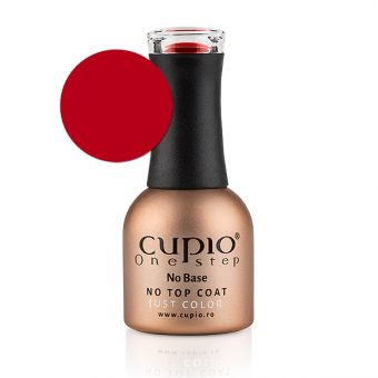 Gel Lac Cupio One Step Easy Off - Candy Apple Red