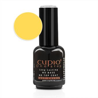Gel Lac 3 in 1 Cupio One Step Yellow 15ml - R102