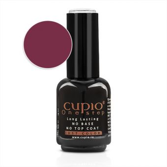 Gel Lac 3 in 1 Cupio One Step Cherry 15ml - R216