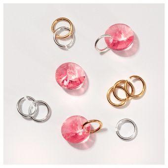 Piercing de unghii Tiny Treasures Rose Peach 3 buc