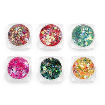 Glittere pentru fata si corp set 6 #06