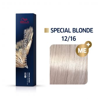 Vopsea de par Wella Professionals Koleston Perfect 12/16 Blond Special Cenusiu Violet