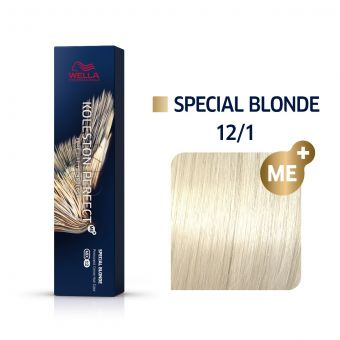 Vopsea de par Wella Professionals Koleston Perfect 12/1 Blond Special Cenusiu