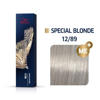 Vopsea de par Wella Professionals Koleston Perfect 12/89 Blond Special Albastrui Perlat