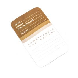 Card de programare Manichiura Set 20