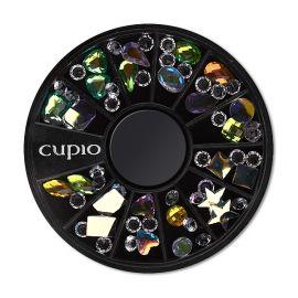 Carusel mini mix pietre colorate si transparente