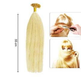 Extensii Microrings Blond Auriu