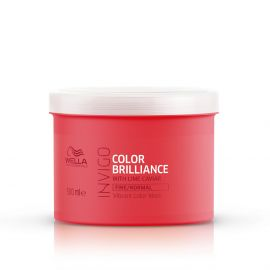 Masca de par hidratanta pentru par normal si fin Wella Professionals Color Brilliance 500 ml