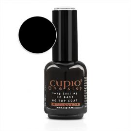 Gel Lac 3 in 1 Cupio One Step Black 15ml - R001