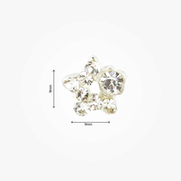Decor Metalic Nail Art 3d M48