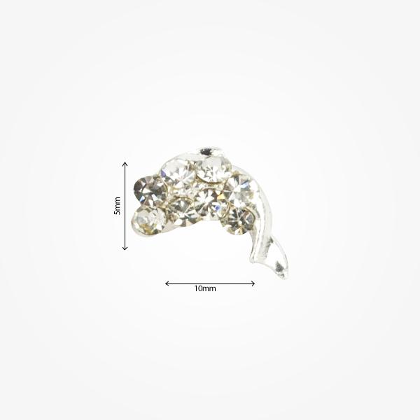Decor Metalic Nail Art 3d M78