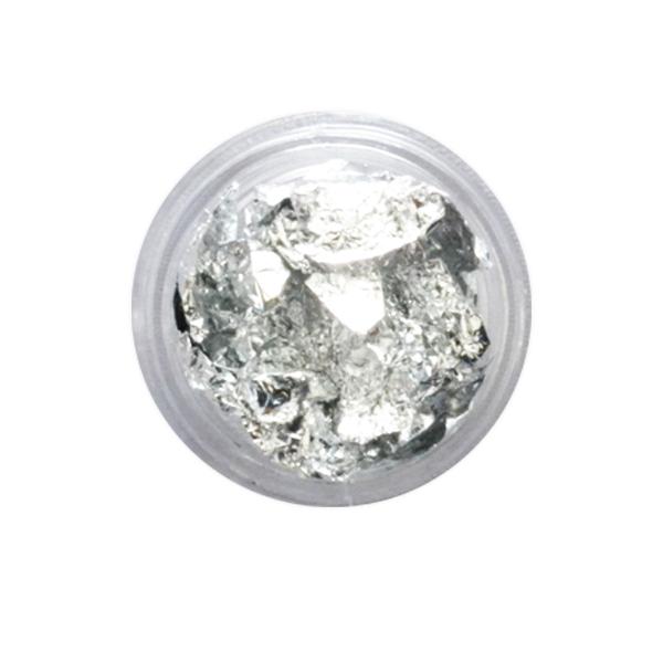 Foita unghii argintie
