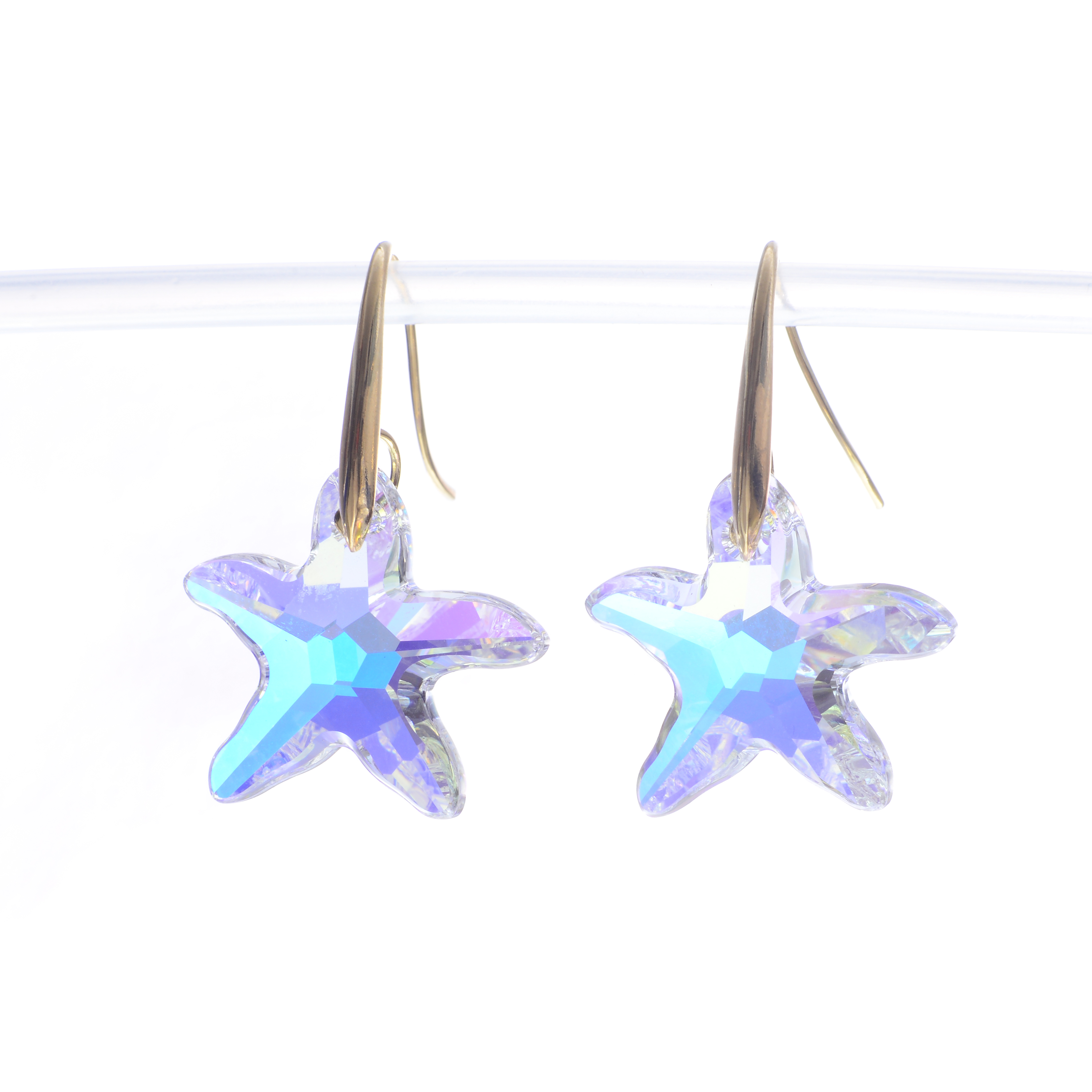 Cercei Swarovski Elements Sparkling Star