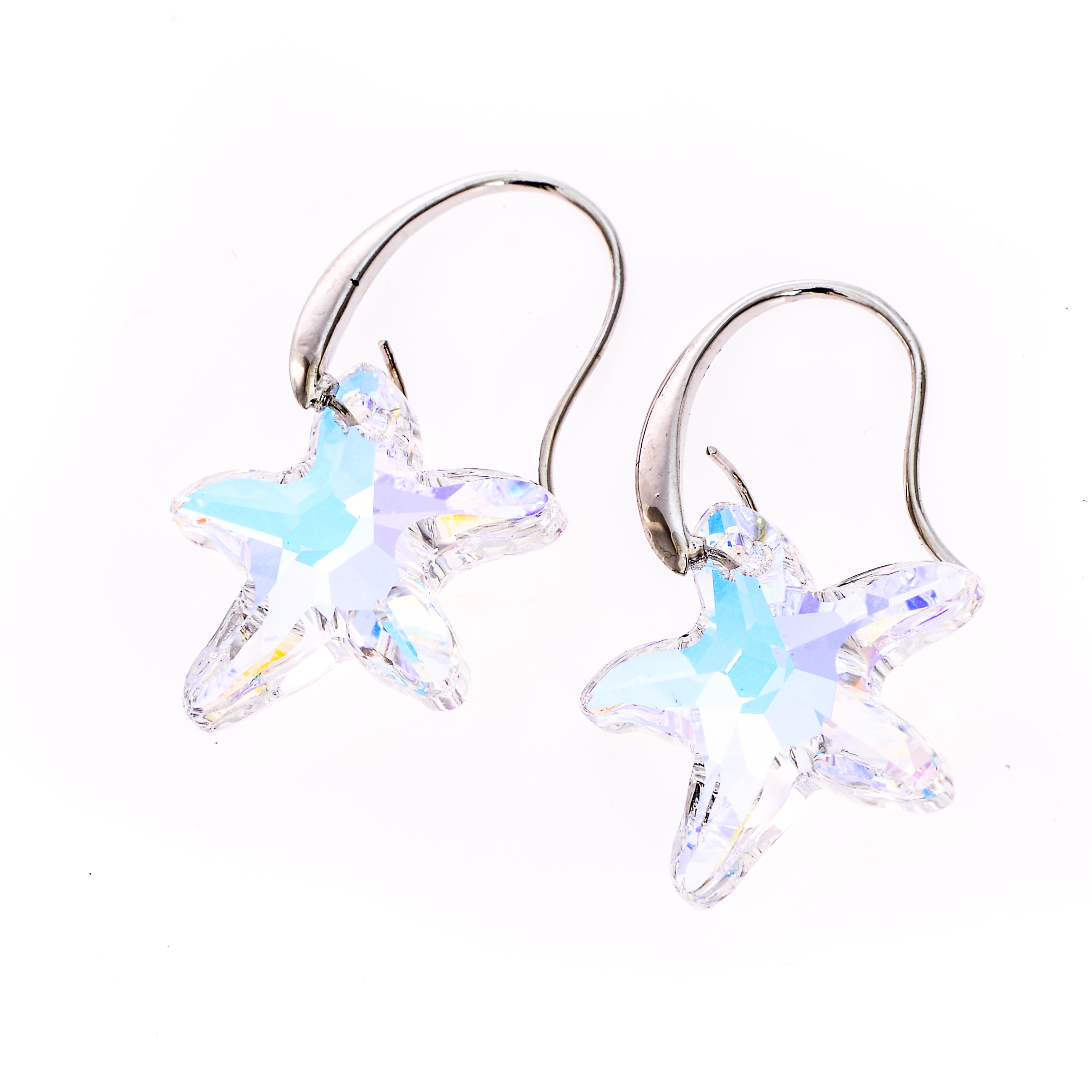 Cercei Swarovski Elements Crystal Star