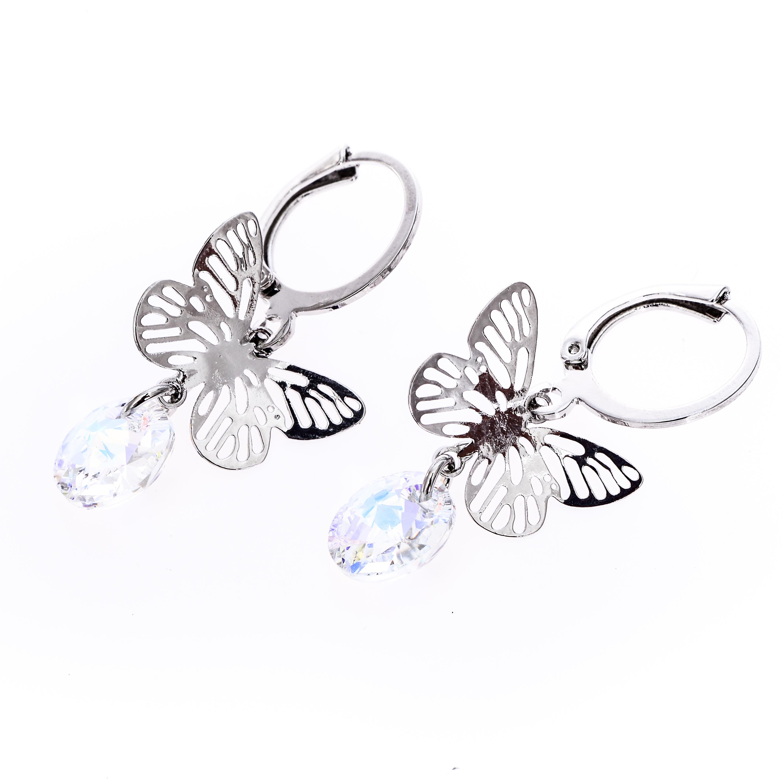Cercei Swarovski Elements Butterfly