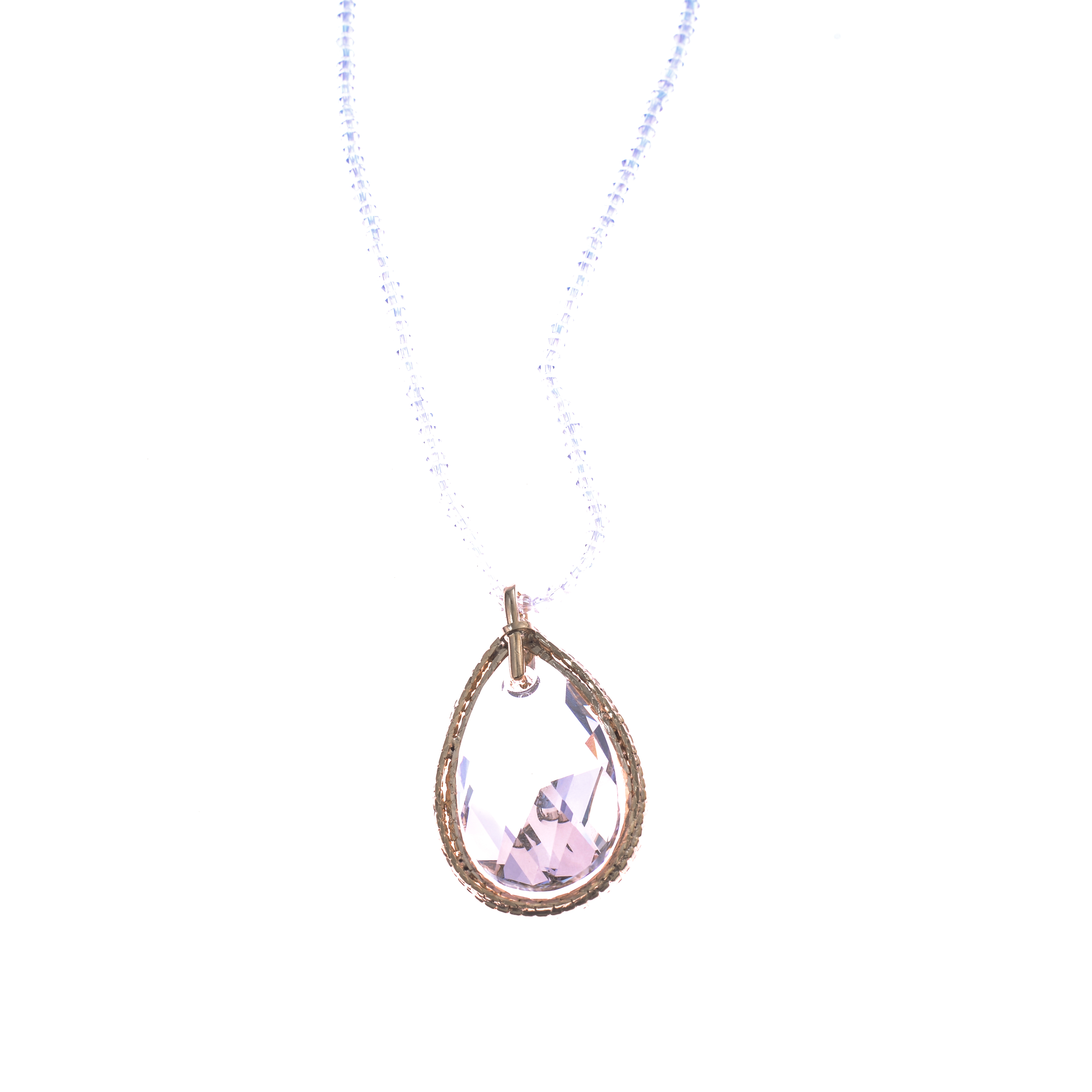 Lant Swarovski Elements Gold Diamond