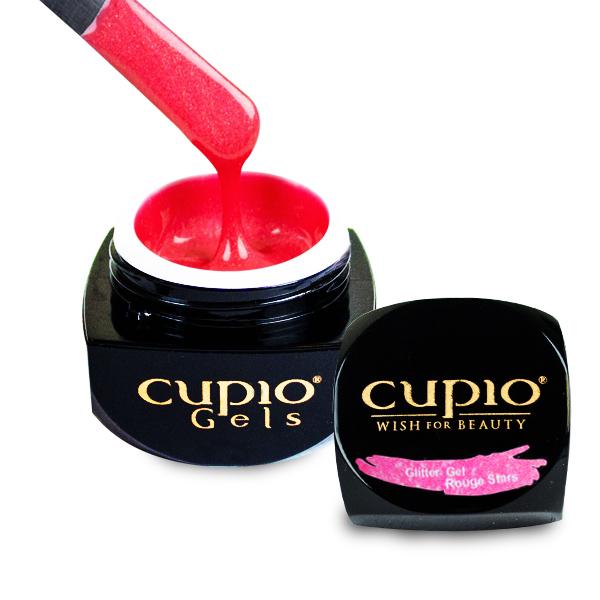 Glitter Gel Cupio Rouge Stars