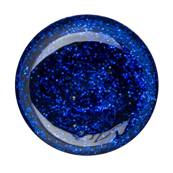 Glitter Gel Cupio Laser Blue