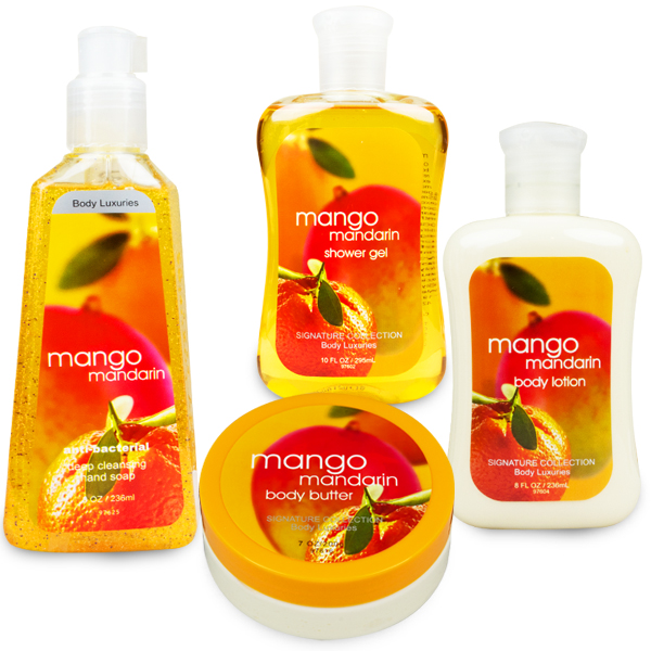 Kit Body Luxuries Mango Mandarin