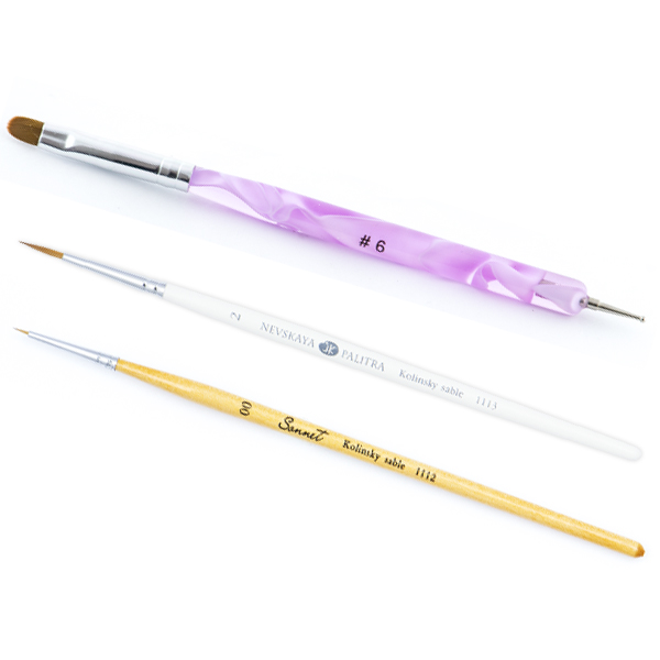 Kit Pensule Nail Art Perfection