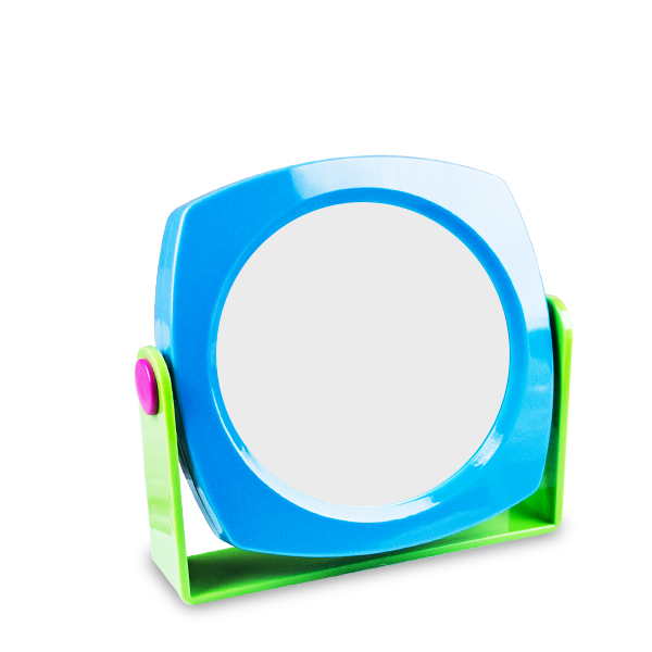 Oglinda colorata rotunda