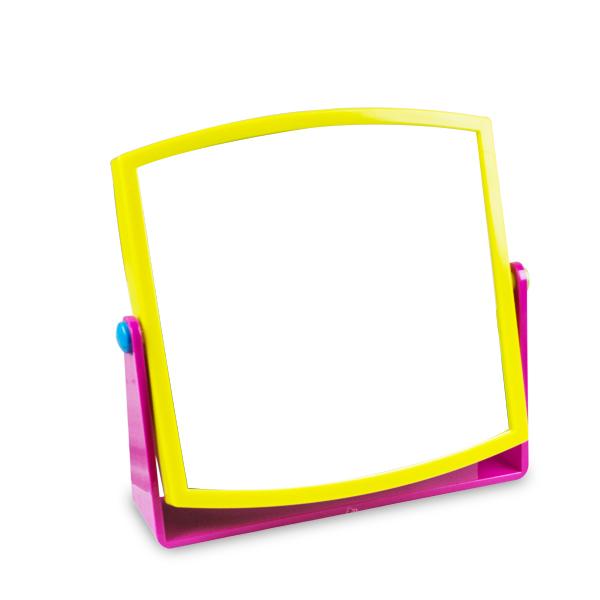 Oglinda colorata patrata
