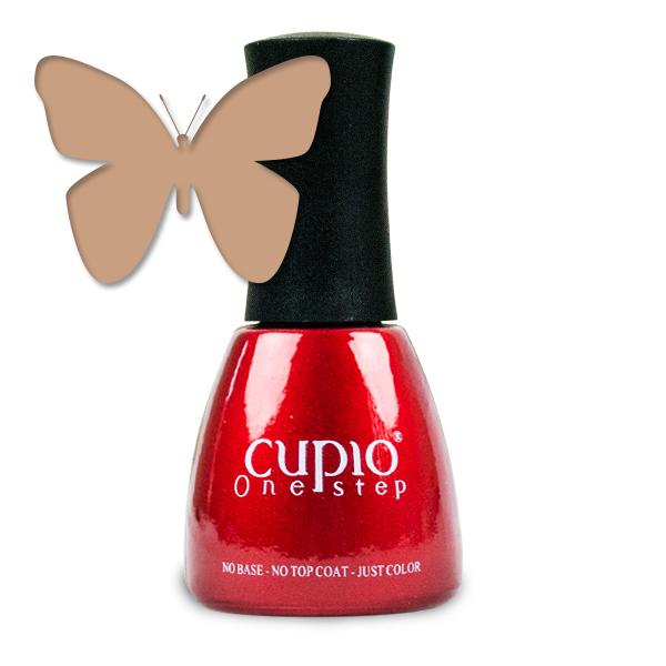 Gel Lac 3 In 1 Cupio One Step Dark Nude 15ml R098