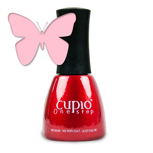 Gel Lac 3 In 1 Cupio One Step Dusky Pink 15ml R118