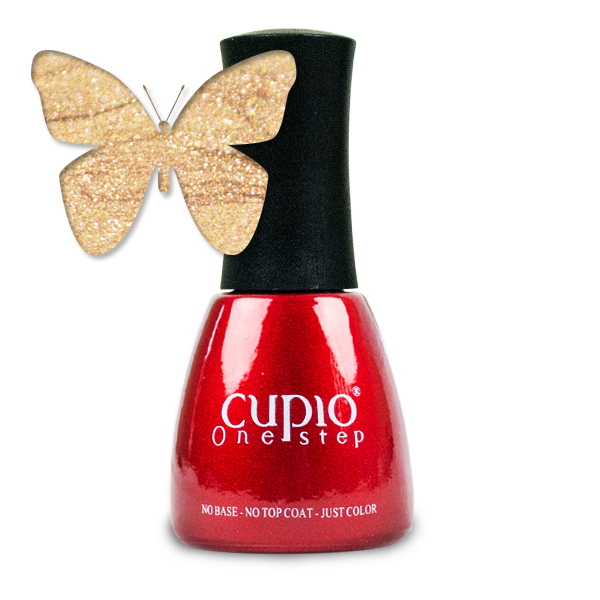 Gel Lac 3 In 1 Cupio One Step Lux Gold 15ml R842