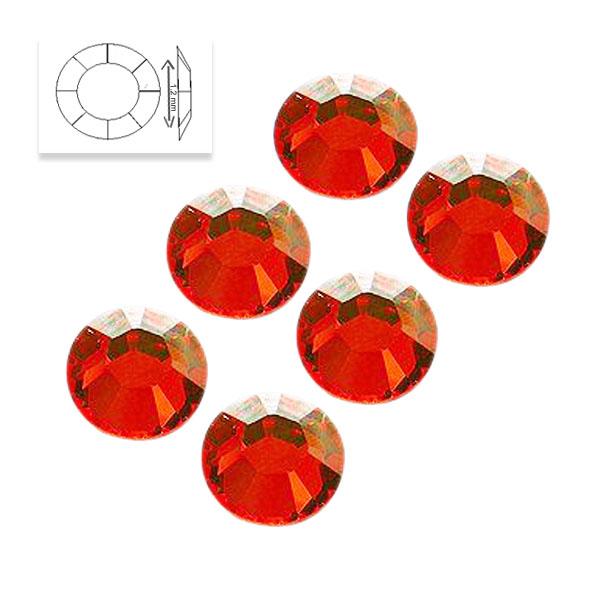 Cristale Unghii Rosii 50 Buc