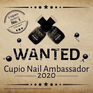 Cupio își caută Nail Ambassador pentru anul 2020! ???? ???????????? Dacă ești pasionată de manichiură și iubești produsele Cupio, intră în competiție! ???? Campania Nail Ambassador 2020 se desfășoară în perioada 13 august – 18 decembrie 2019 (inclusiv). Câștigătorul va fi anunțat în data de 20 decembrie 2019. ???? Regulamentul concursului il puteti vizualiza pe blog (link in bio ????). #CupioNailAmbassador